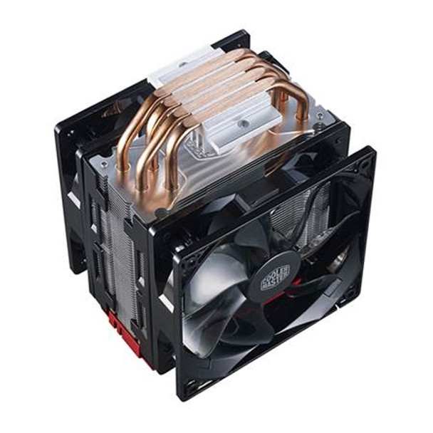 Cooler Master Hyper 212 LED Turbo CPU Cooler - Red Top Cover Product Image 4