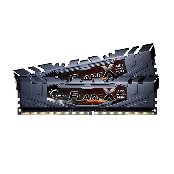 Product image for G.Skill Flare X 32GB (2x 16GB) DDR4 2400Mhz Memory Black | AusPCMarket Australia
