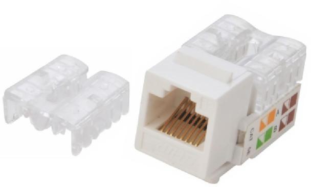 Product image for Astrotek CAT6 UTP Keystone Jack for Socket kit 10ps per pack White | AusPCMarket Australia