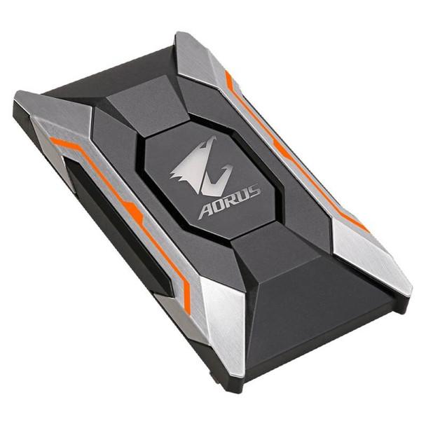 Product image for Gigabyte AORUS RGB SLI HB Bridge - 2 Slot Spacing | AusPCMarket Australia