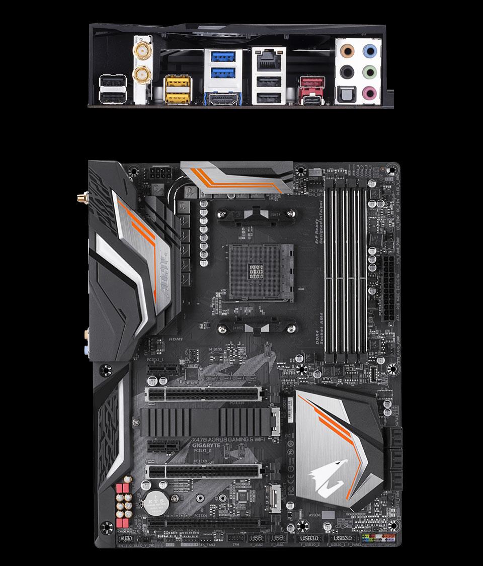 Gigabyte X470 Aorus Gaming 5 WiFi Motherboard