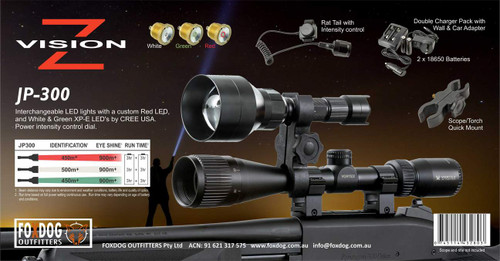 JP-300 Rifle Mount Torch Kit V2