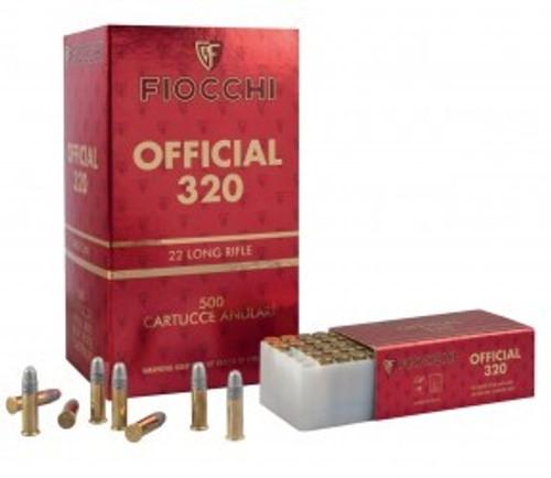 FIOCCHI 22LR 40GR OFFICIAL 320 50PK