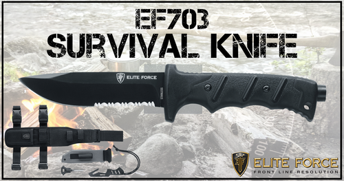 Umarex Elite Force Knife Folding Survival Kit EF703