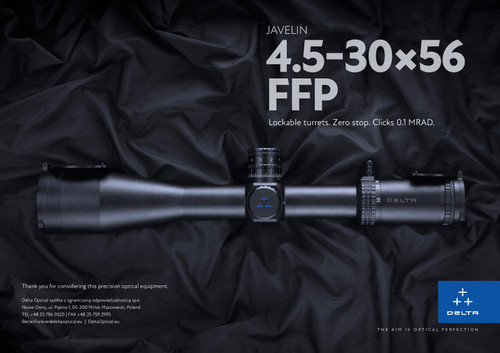 Delta Javelin 4.5-30x56 FFP