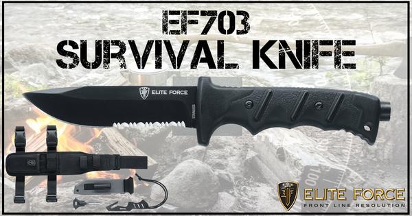 Umarex Elite Force Knife Folding Survival Kit EF703