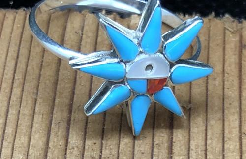 Sunface Star Ring