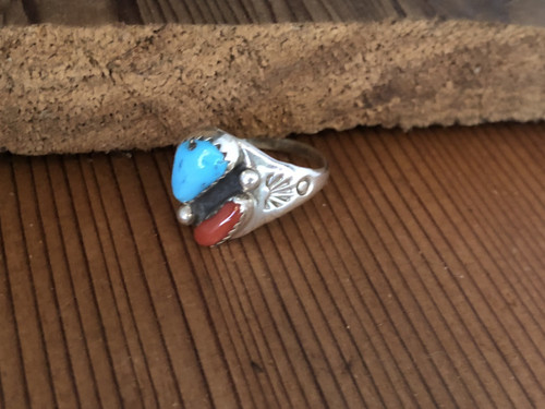 Coral n Turquoise ring.