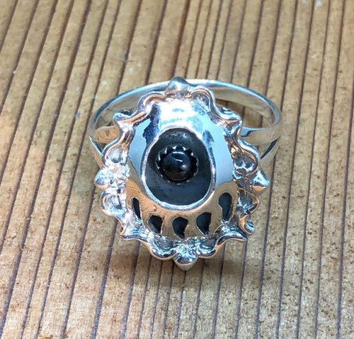 Bear Paw Onyx Ring