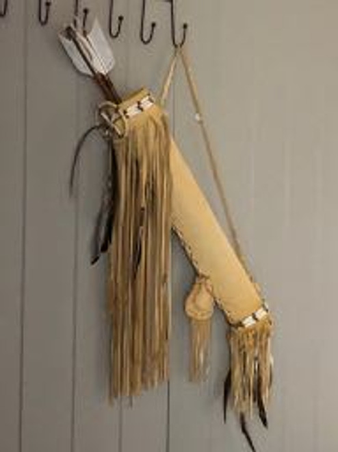 Buckskin Fringed Arrow Pouch