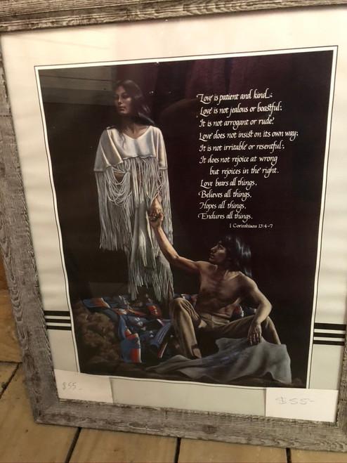 Framed words of Love