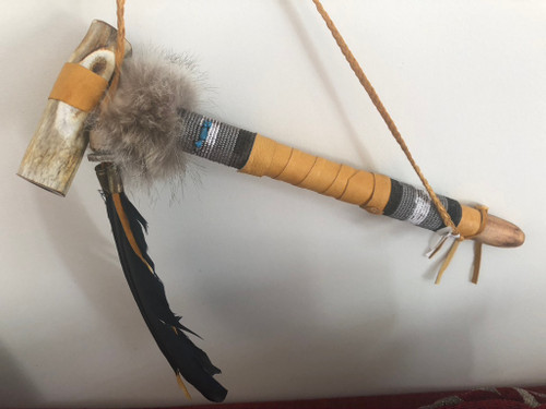 Beaded Peace pipe