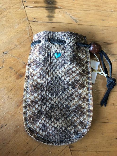 Diamondback Rattlesnake Pouch
