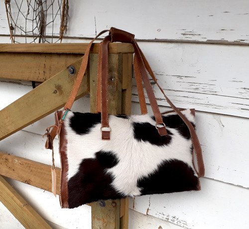 Cow Hide Hand Made Bag