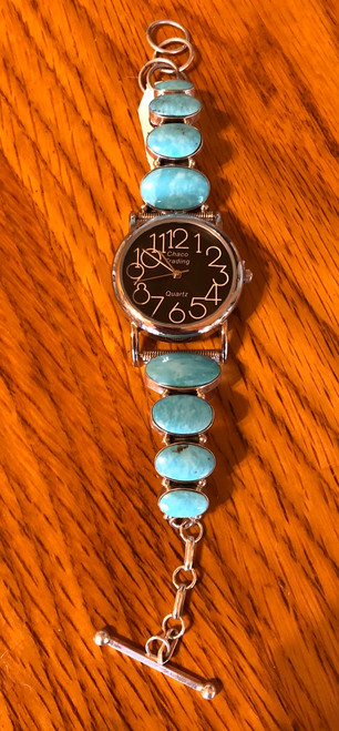 Large Turquoise Watch.