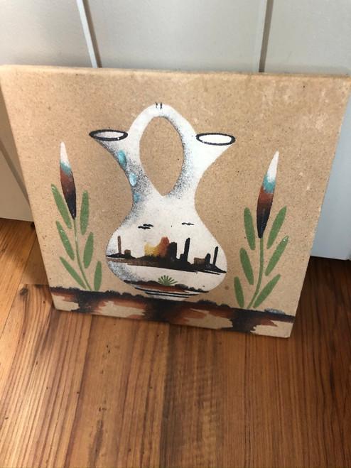 Wedding Vase Sandpainting