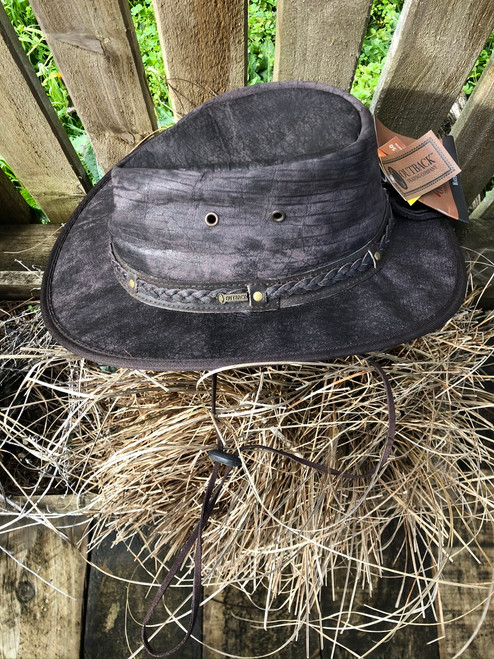 Iron Bark Leather hat