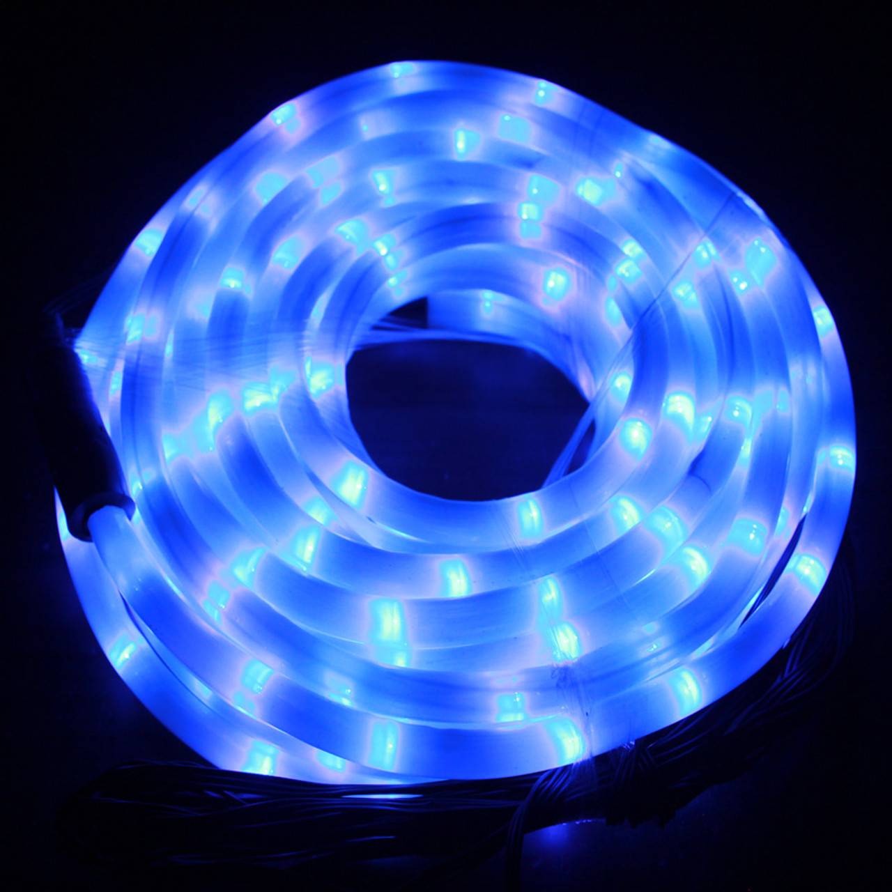various colors 0b32b fae49 [Milky Tube] LED 10M Christmas Milky Blue Rope Lights with 8 Functions (36V  Safe Voltage)