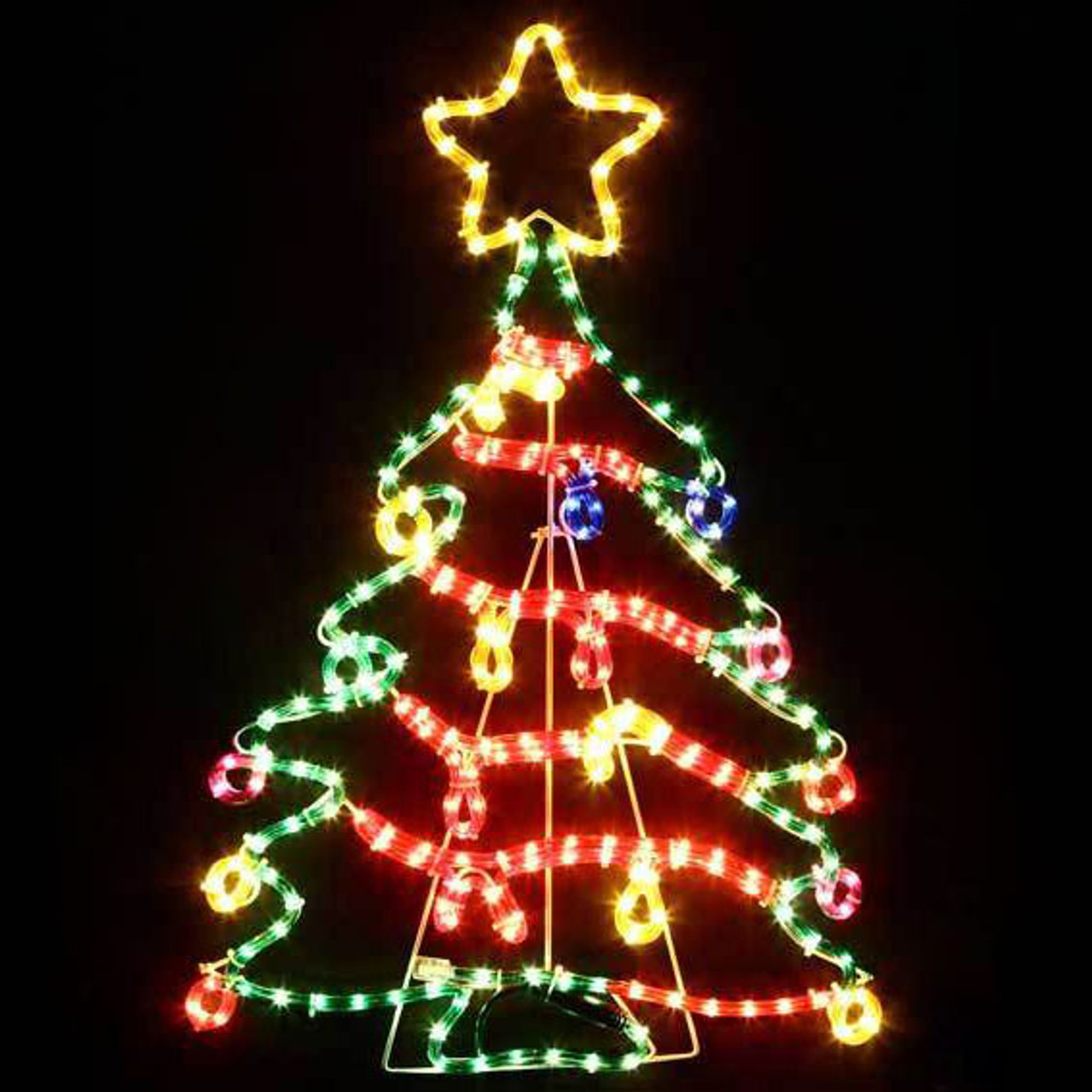 the best attitude abc67 a7f4a 75CM LED Cute Colourful Christmas Tree Motif Rope Lights