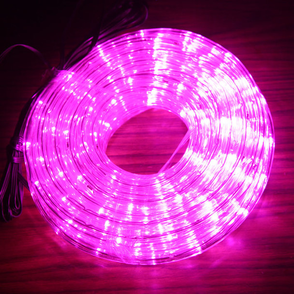 LED 10M Christmas Pink Rope Lights with 8 Functions