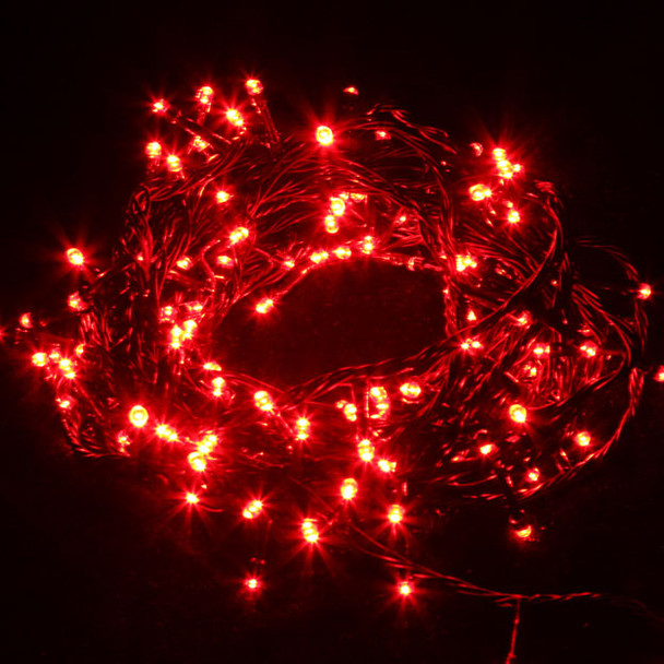 20M 292 LED Red Christmas Wedding Party Fairy Lights with 8 Functions & Memory (Green Cable)