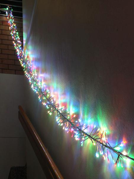 LED Multi Colours Firecracker Chaser String Christmas Lights