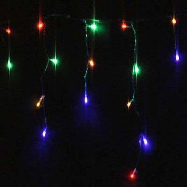 40M 700 LED IP44 Multi Colours Christmas Wedding Party Icicle Lights
