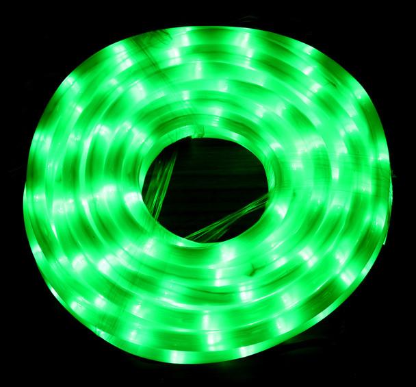 [Milky Tube] LED 10M Christmas Milky Green Rope Lights