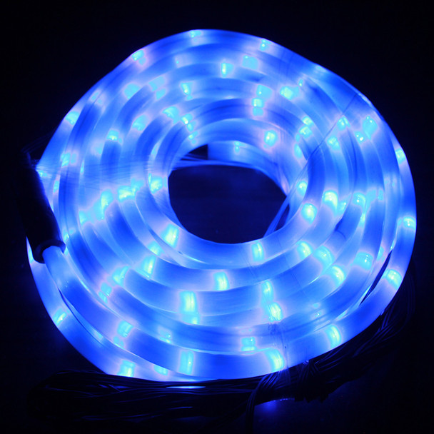[Milky Tube] LED 10M Christmas Milky Blue Rope Lights with 8 Functions (36V Safe Voltage)