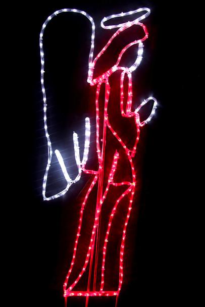 146CM LED Angel Nativity Christmas Motif Rope Lights