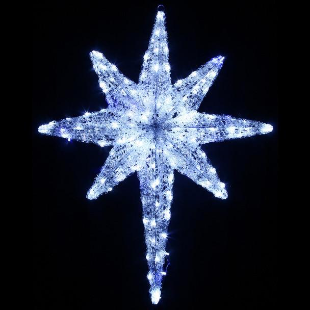 82CM 3D Acrylic Bethlehem Star Christmas Lights
