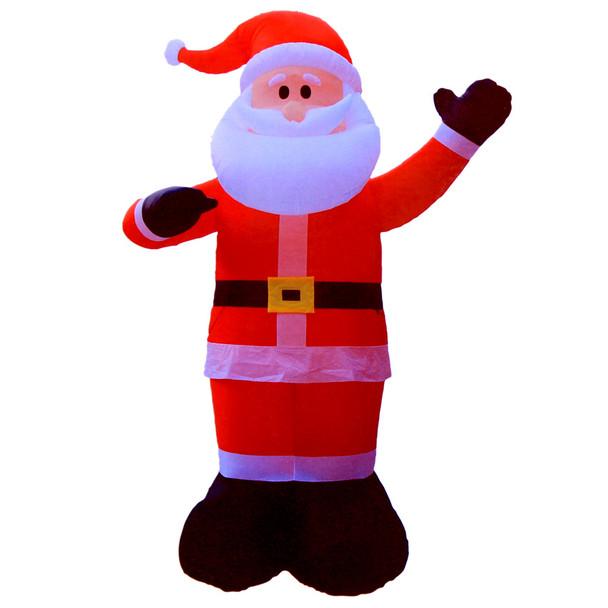 300CM Inflatable Christmas Santa with LED Lights