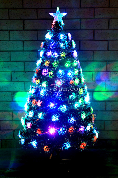 180CM Snowy Christmas Tree with Multi Colours LED Lights