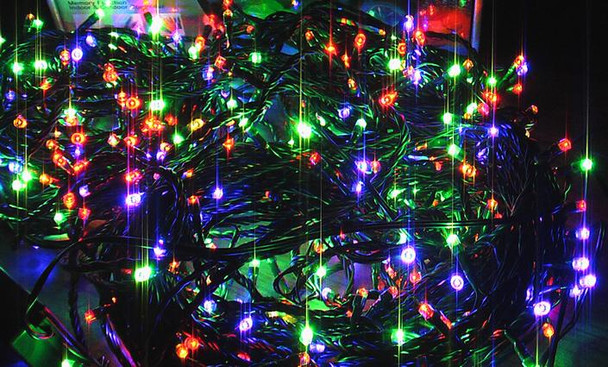 200 LED Multi Colours Christmas Fairy Lights