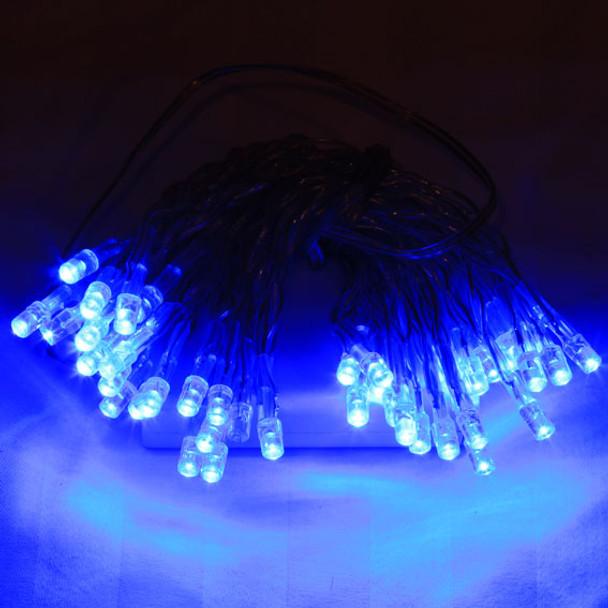 4M 40 LED Blue Battery Fairy Lights