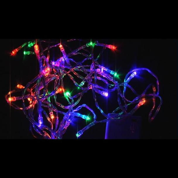 4M 40 LED Multi Colours Battery Fairy Lights