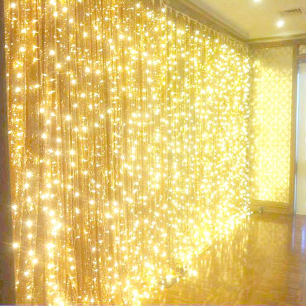 LED Warm White Wedding Curtain Backdrop Lights