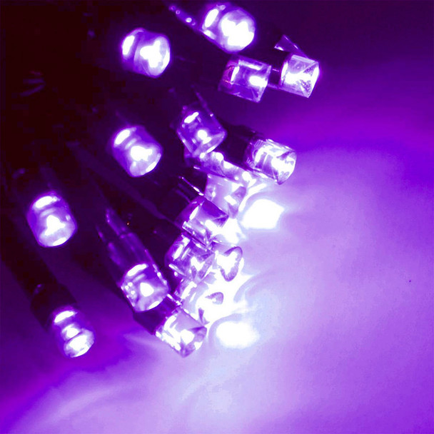 20M 292 LED Bluish Purple Christmas Fairy Lights with 8 Functions & Memory