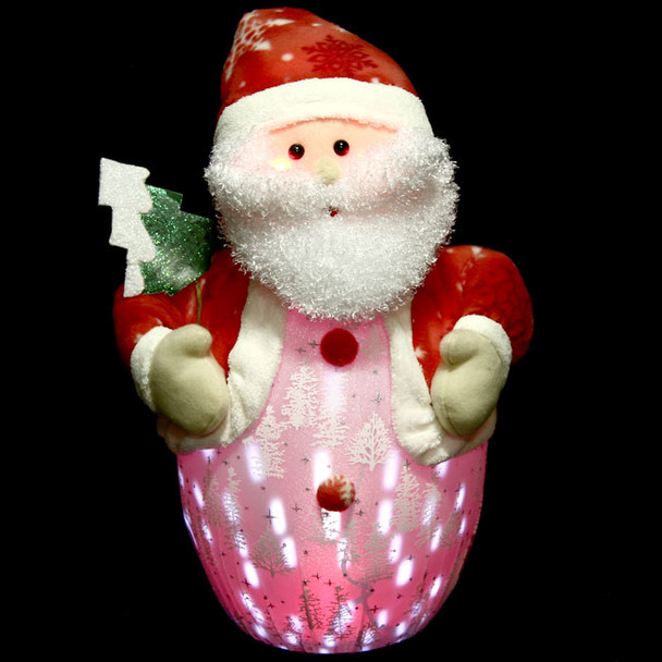 47CM Santa Claus Snowing Ornament with Christmas Songs