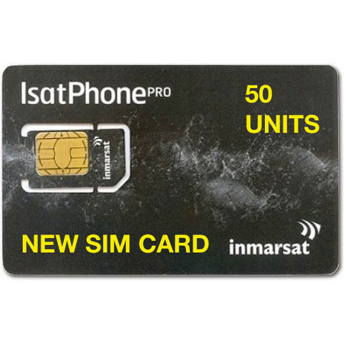 50 Units New SIM Card