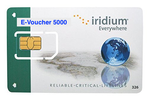 Iridium Prepaid E-Voucher 5000 (300,000 Units) (24 Month Expiry)