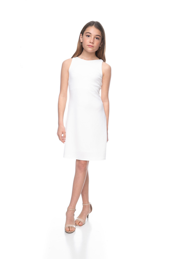 tween_girls_white_textured_sheath_dress_in_longer_length