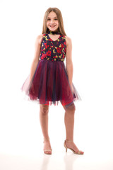 Sedona Sunrise Choker Style Party Dress