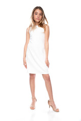 tween_girls_ivory_texture_sheath_dress_in_longer_length