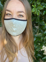 Reversible Face Mask in Grey and Black