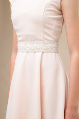 Gold and Ivory Lace Belt
