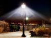 LED Dark Skies Corn Lamp for Post Top Retrofit