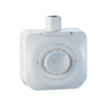 "Overview Specifications Place of Origin:  Zhejiang, China (Mainland)  Brand Name:  YOTI  Model Number:  YM2501A  Usage:  High Bay/Low Bay PIR Sensor  Theory:  PIR  Output:  Occupancy Sensor  Color:  White  Packaging & Delivery Packaging Details: 49*27*36cm/0.0476CBM, 50pcs/Carton BASIC OPERATION Passive Infrared Technology(PIR) is used to sense occupancy by comparing the infrared energy from an object in motion and the background space. It detects changes in the infrared energy given off by occupants as they move within the field-of-view.     The sensor detects changes in the infrared energy given off by occupants as they move within the field-of-view. When occupancy is detected, a self-contained relay switches the connected lighting load on. No initial field calibration or sensitivity adjustments are required. YM2501A designed to switch both LED and fluorescent lighting loads. Robust relay protection makes YM2501A units capable of enduring the extreme inrush conditions often encountered with LED loads.     TIME DELAY ADJUSTMENT When people leave, the load can still work within the set time period. It can be adjusted from 15 seconds up to 30 minutes. The left is minimum 15 seconds and the right is maximum 30 minutes. The time should be reduced only in heavy traffic area such as hallways, kitchens, copier rooms, etc. to achieve maximum energy savings.     INSTALLATION The YM2501A mounts directly to an industrial fluorescent fixture or an electrical junction box through a standard 1/2"" knockout using the provided lock-nut.     FEATURES High/Low occupancy operation: supplied with three lens trim rings Fast, easy time delay setting: can be set at any time without requiring power to the sensor; time delay is variable from 15s-30m Instantly verify fixture operation and wiring connections: ""instant ON"" closing relay fires lamps in under 5 seconds Easy to installation: No need to disassemble the screws of fixture, saving time and effort Auto temperature calibration: automatically adjusts the PIR sensitivity as ambient temperature rises to increase detection of heat movement through the field-of-view Power interruption state: For energy savings and safety, if power is lost to device, device will return to last known state. Manual calibration: optimize energy savings and operation by manually configuring the Daylighting Set Point False detection intelligence: for increased energy savings and to mitigate nuisance tripping, the super bright LED indicates advanced detection has been activated and the lights will only turn ON when true occupancy has been determined   SPECIFICATIONS Electrical Data Input Votage: 120V~277V AC Operational Frequencies: 50/60Hz Load Rating: 800VA@120VAC Ballast, 1200VA@277VAC Ballast, Motor: 1/6 HP Load@120V Time Delay: 15 seconds - 30 minutes(factory set to 30 sec - no power required to set) Wire Designation: Hot-Black, Load-Red, Neutral-White Environmental Data Operating Temperature Range: 32°F to 131°F (0°C to 55°C) Cold Storage Operating Temperature Range:  -32°F to 131°F (-25°C to 55°C) Storage Temperature Range:  -32°F to 131°F (-25°C to 55°C) Relative Humidity: 95% RH non-condensing Physical Data Dimension: 3.55""H×3.55""W×1.57""D Construction: High-impact, injection molded plastic housing Color: White Other Data Listings: UL & cUL Listed Warranty: Limited Three-Year"