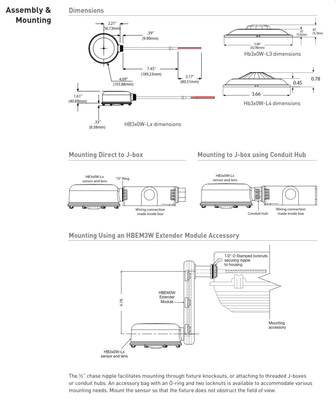wattstopper wiring diagrams wattstopper hb350w wet location infrared occupancy sensor  wet location infrared occupancy sensor