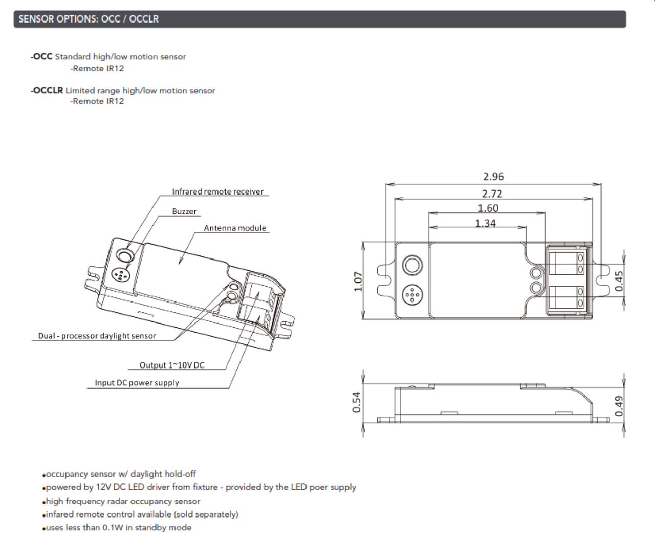 Light Efficient Design LEDCR and LEDSR-WALL AND CEILING RETROFIT KITS